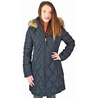 Jessica Simpson Womens Parka Coat Down Quilted