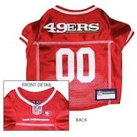 San Francisco 49ers Dog Jersey - Medium
