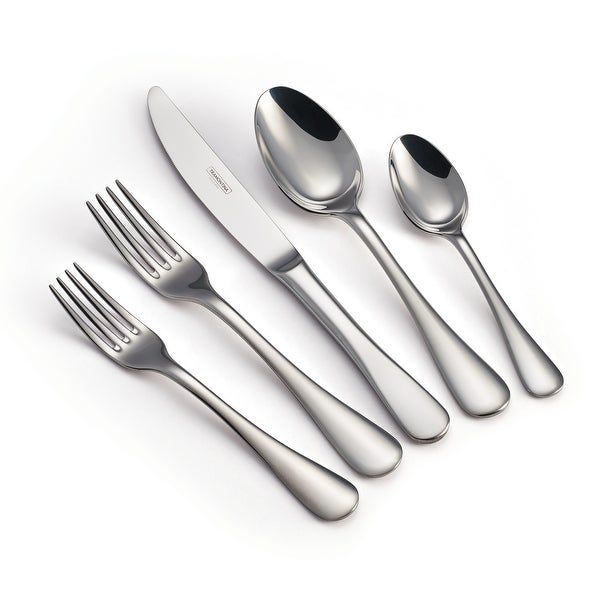 Tramontina Classic 20 Pc 18/10 Stainless Steel Flatware Set. Opens flyout.