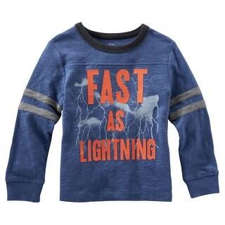OshKosh B'gosh Baby Boys' Way-to-Glow Jersey - Fast as Lighting