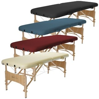 Basic Portable Folding Massage Table - Multiple Colors Available
