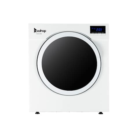 3.5 Cu.ft Compact Household Dryer with LED Display