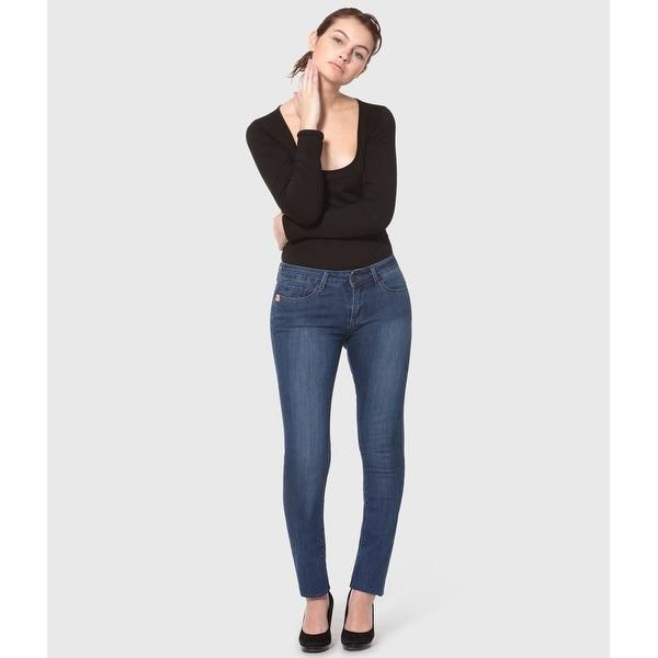 Lola Kristine-MB, Mid rise Straight Jeans