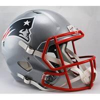 New England Patriots Riddell Full Size Deluxe Replica Speed Football Helmet