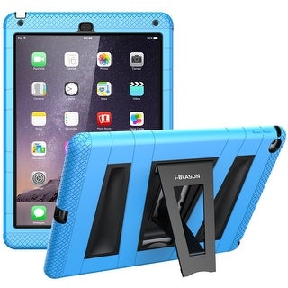 i-Blason-iPad Air 2 Case-Armorbox Series Dual Layer Case with Screen Protector for IPad Air 2 Case-Blue