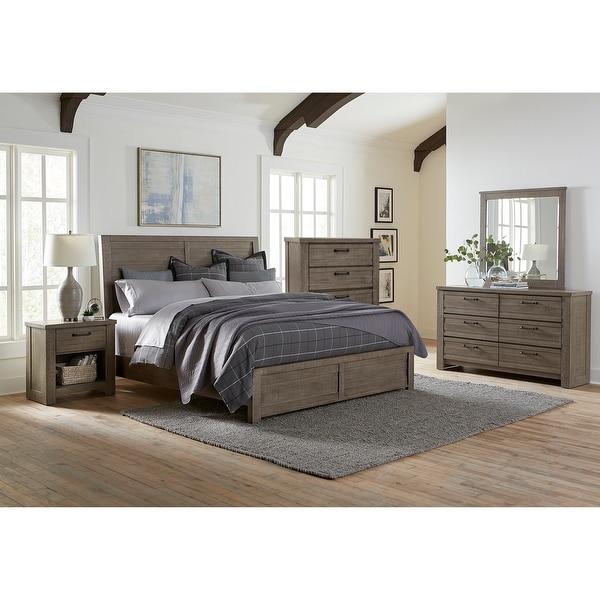 Sedona Transitional Medium Gray 6-piece Bedroom Set. Opens flyout.