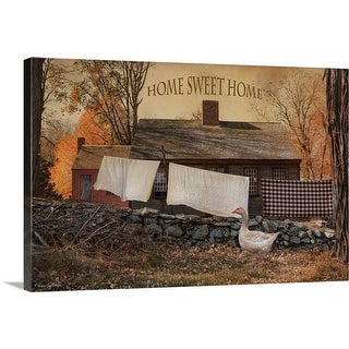 """Home Sweet Home"" Canvas Wall Art"