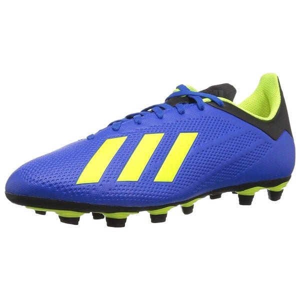 info for a52ae 3ece3 Adidas Mens X 18.4 Fg Soccer Shoe, Adult, Football Blue/Solar Yellow/Black