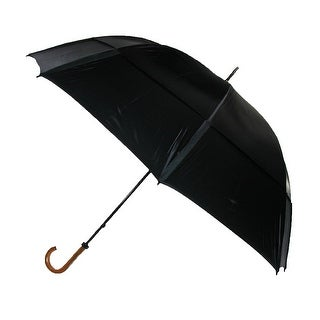 GustBuster 68 Inch Canopy Doorman Umbrella, Black