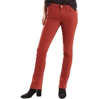 Levi's Womens Colored Skinny Jeans Mid Rise Soft Touch - 33/32
