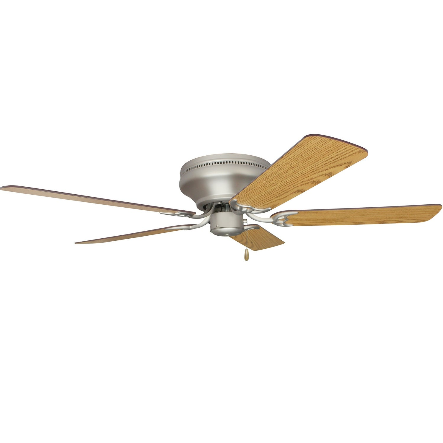 Image of: Shop Black Friday Deals On Craftmade Contemporary Flushmount Pro Contemporary 42 52 5 Blade Flush Mount Ceiling Fan Requires Blade Selection Overstock 16087841