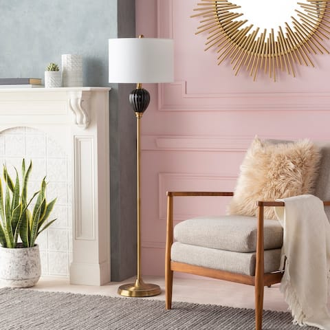 Datto Glazed Ceramic Traditional 60-inch Floor Lamp