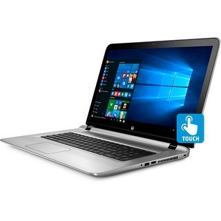 "HP Envy 17S, Core i7-7500, 16GB, Nvidia 940MX 4GB, 17.3"" FHD Touchscreen Laptop - Silver"