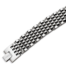 Chisel Stainless Steel Polished 8 Inch Bracelet