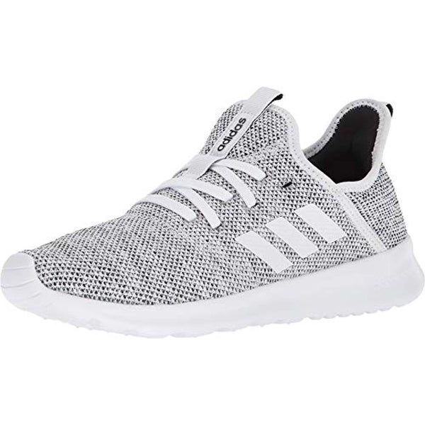 low priced b79f8 37f6d Shop Adidas Performance Womens Cloudfoam Pure Running Shoe, WhiteWhite Black, 7 M Us - Free Shipping Today - Overstock - 25977098