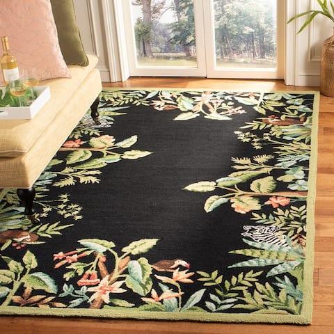 SAFAVIEH Hand-hooked Chelsea Danika Country Oriental Wool Rug