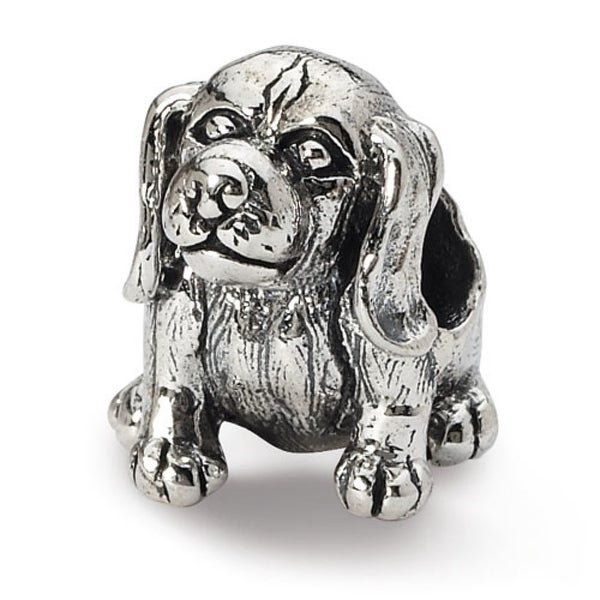 Sterling Silver Reflections Beagle Bead (4mm Diameter Hole)
