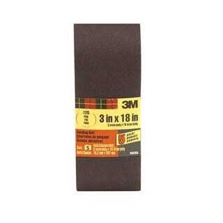 """3M 99260 Heavy-Duty Power Sanding Belt, 3""""x18"""""""