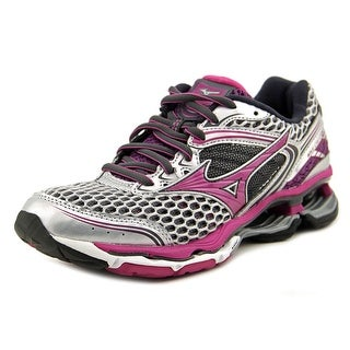 Mizuno Wave Creation 17 Women W Round Toe Synthetic Gray Running Shoe