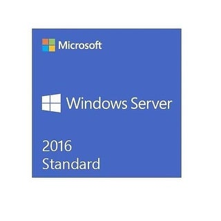 Microsoft Oem Software - P73-07172 - Server 2016 Std 4 Core Al Apos