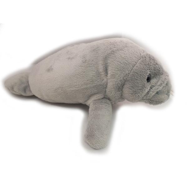 "Wishpets Child Manatee Plush Toy 11"" Gray"