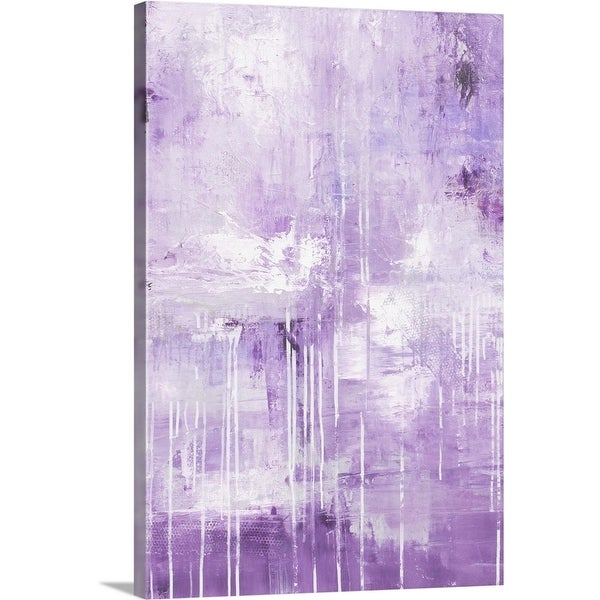 """Lavenders Mist"" Canvas Wall Art"