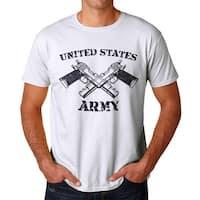 United States Army Men's White T-shirt