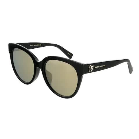 Marc Jacobs MARC382FS 807 Black Round Sunglasses - 56-19-145