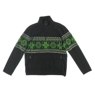 Polo Ralph Lauren Mens Fleece Pattern Pullover Coat - XL