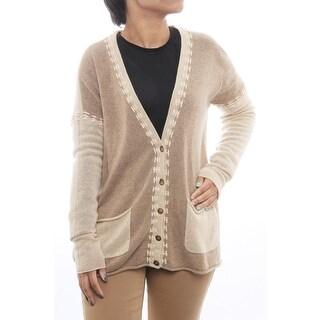 Cullen Long Sleeve Whip Boxy Cardigan Women Regular Sweater
