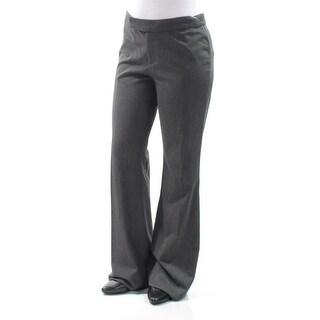 RALPH LAUREN Womens Gray Wear To Work Pants Size: 4