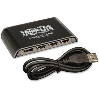 Tripp Lite U225-004-R Tripp Lite 4-Port USB 2.0 Hi-Speed Hub - 4 x Type A Female USB 2.0 USB Downstream, 1 x 5-pin Mini Type B