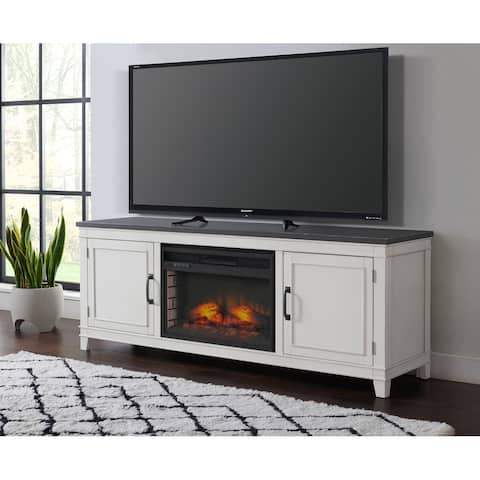 Del Mar 70 in. TV Stand with Fireplace by Martin Svensson Home