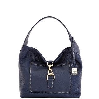 Dooney & Bourke Pebble Grain Leather Medium Annalisa Lock Sac (Introduced by Dooney & Bourke at $258 in Nov 2013) - Marine