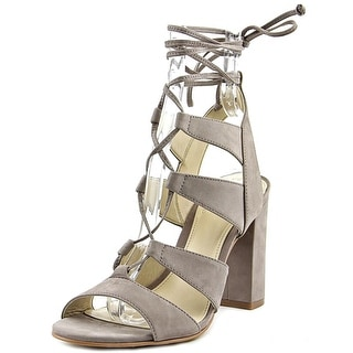 Vince Camuto Winola Women  Open Toe Leather Gray Sandals