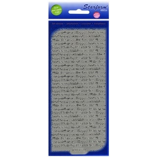 Assorted Words Peel-Off Stickers-Silver - Silver