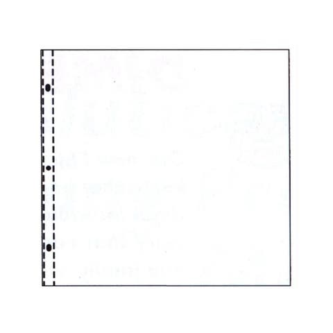 62021 c-line page protector 12x12 top load 25pc clear
