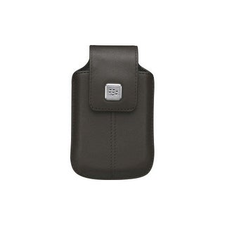 OEM BlackBerry 8900, 8520, 9700 Leather Swivel Holster (Espresso)