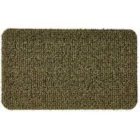 """Grassworx 10376434 Flair Medium Door Mat, 30"""" x 18"""", Urban Green"""