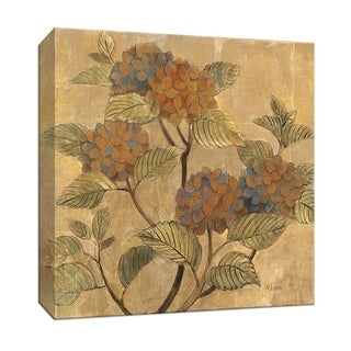 """PTM Images 9-152511  PTM Canvas Collection 12"""" x 12"""" - """"Golden Hydrangea"""" Giclee Hydrangeas Art Print on Canvas"""
