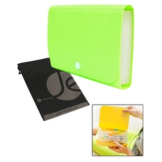 12 Slot Spring Pastel Organizing Multi-Slot Dividing Pouch with Folders for Travel, Documents, Work