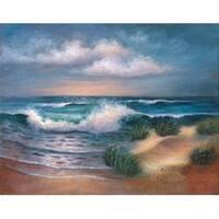 "Hampton Beach - Acrylic Paint Your Own Masterpiece Kit 11""X14"""