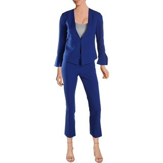 Tahari ASL Womens Petites Pant Suit 2PC Bell Sleeves