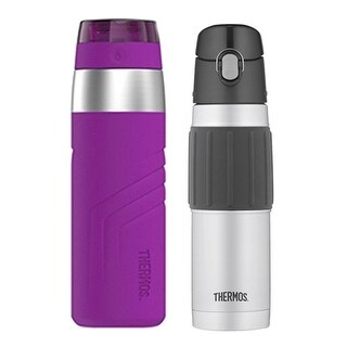 Thermos 20oz Insulated Sporty Direct Drink Bottle with 18oz S/S Hydration Bottle