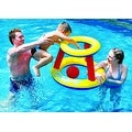 """29"""" Red  Yellow and Blue Inflatable Swimming Pool Water Sports Basketball Game Set - Thumbnail 0"""