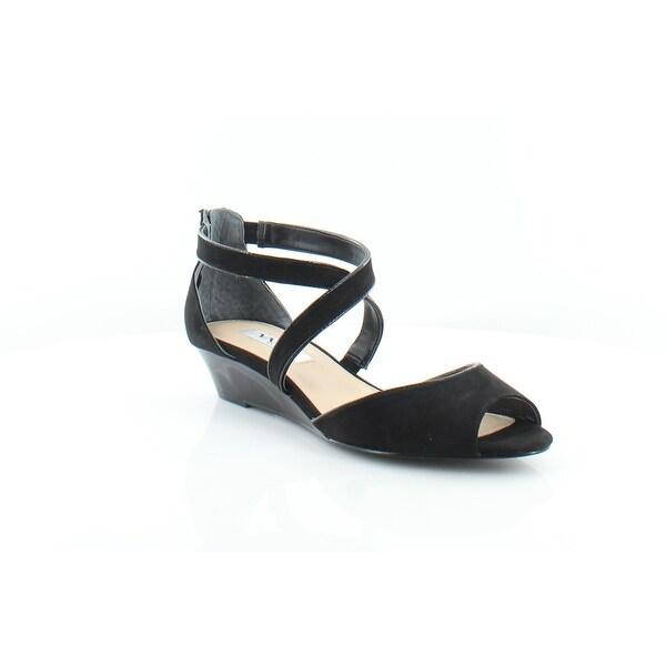 Nina Rhonda Women's Sandals & Flip Flops True Black