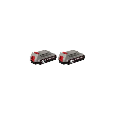 Replacement Battery for Craftsman CMC20B (2-Pack) Replacement Battery