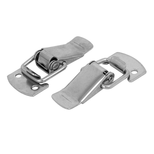 50mmx23mmx9mm 201 Stainless Steel Draw Toggle Latches Catch Hasp Lock 2pcs
