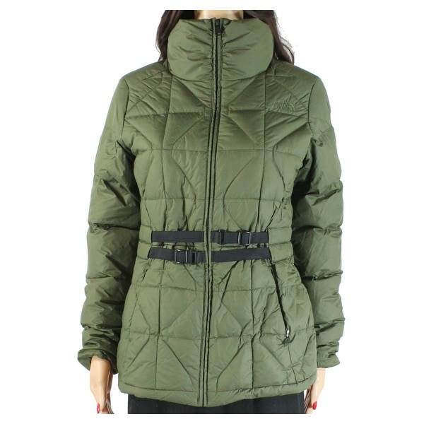 The North Face Green Womens Size Small S Belted Mera Peak Jacket