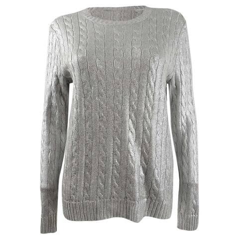 Lauren Ralph Lauren Women's Cable-Knit Sweater